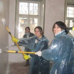 Painting at the Odessa Hillel