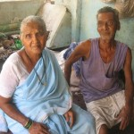 David and his wife in Navgaon