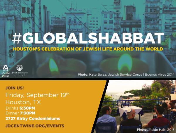 Global Shabbat Houston